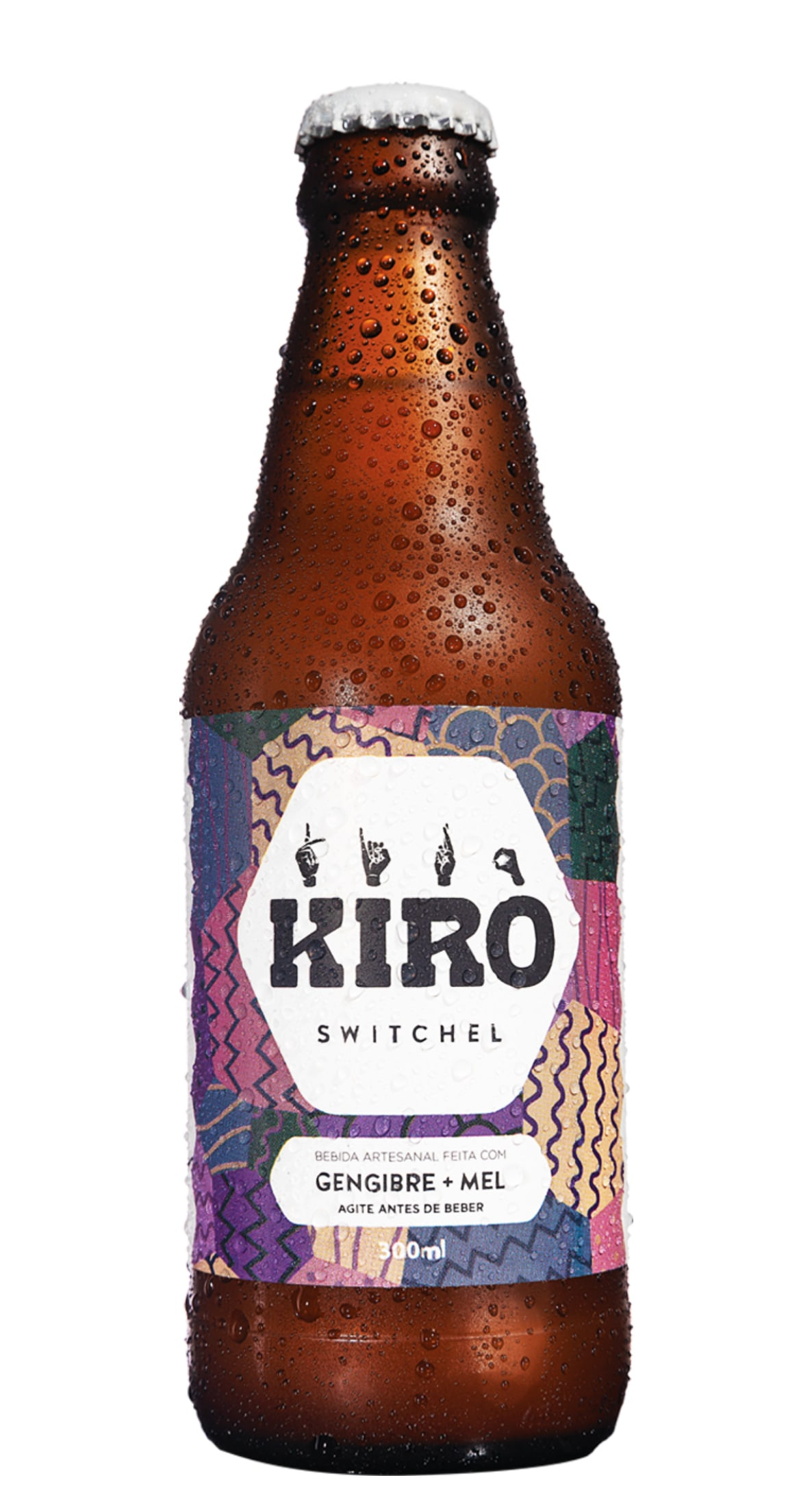 Kiro Switchel (sem álcool) - Gengibre e mel - (300ml)