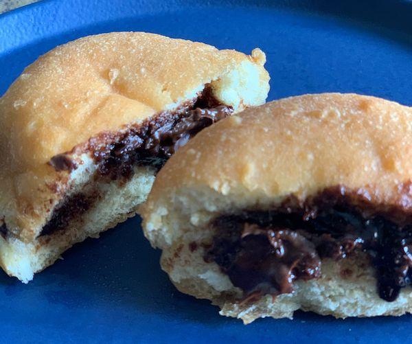 Donuts de Avela - Massa fofinha, recheada com creme de avela - 50 g