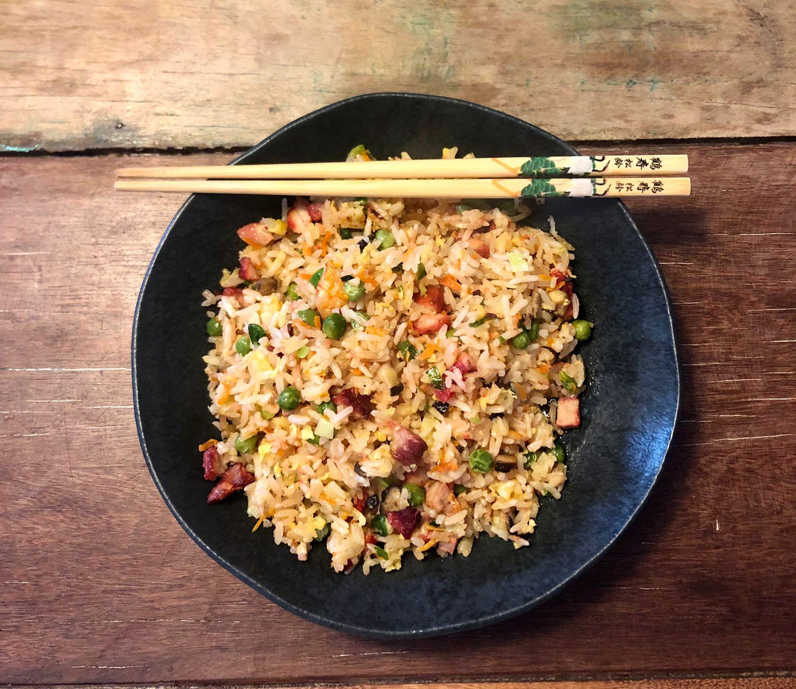 Arroz  Frito Chinês ( Chow Fan ) - 250g