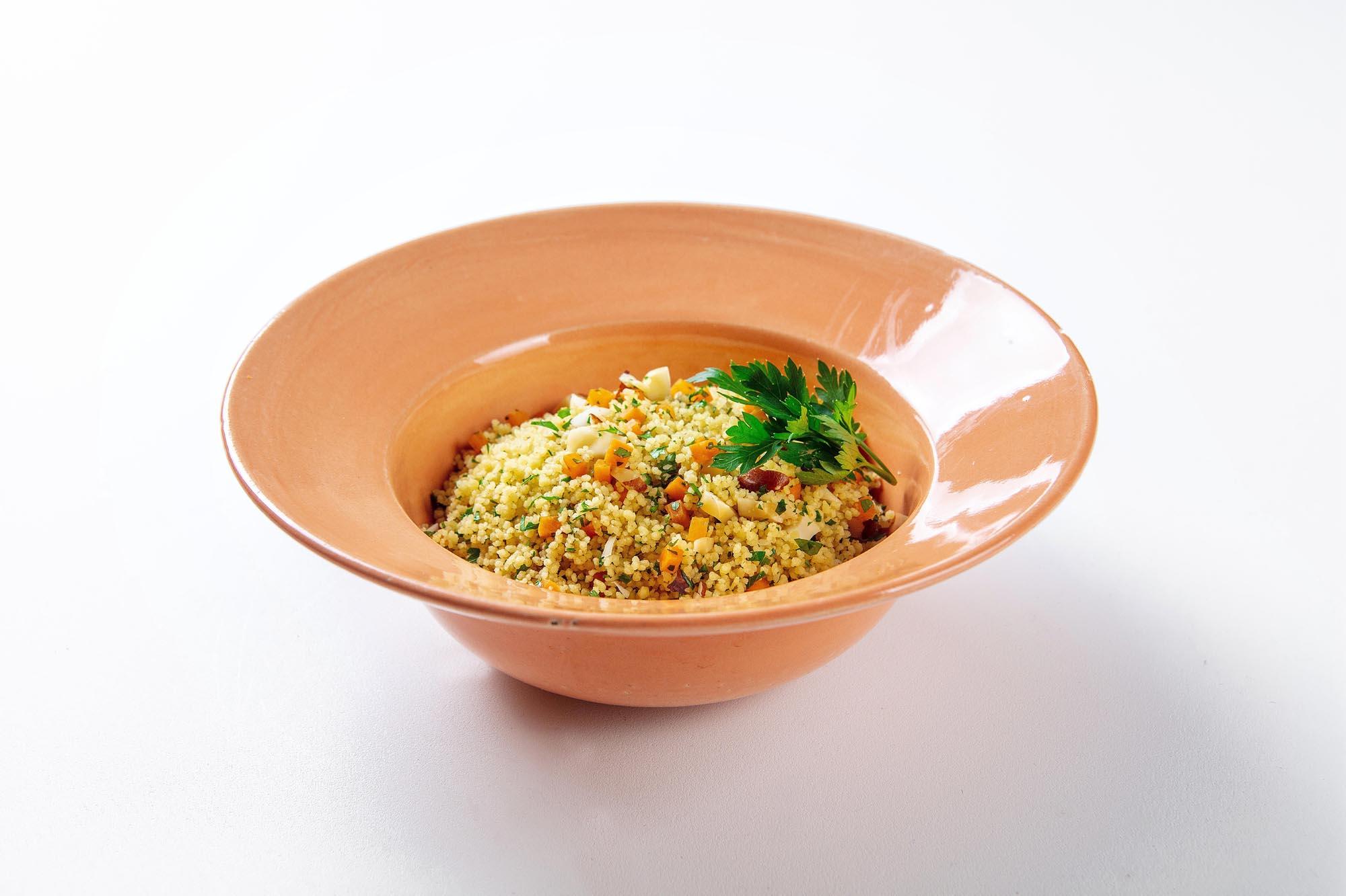 Couscous marroquino cítrico para até 3 pessoas (500g)