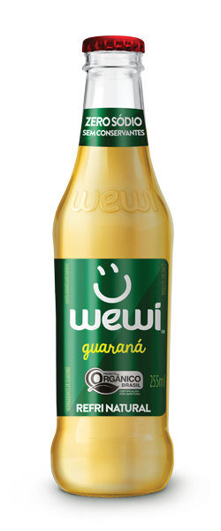 Refrigerante Orgânico Wewi Guaraná - (255ml)