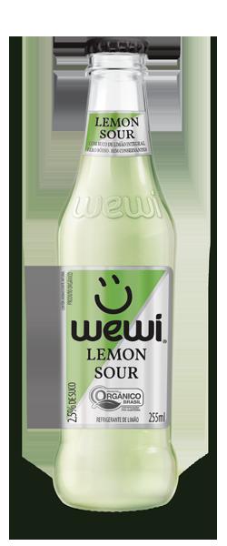 Refrigerante Orgânico Wewi Lemon Sour - (255ml)