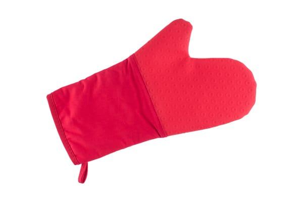 Weck- Luva Silicone e Algodão Vermelho- 35cm