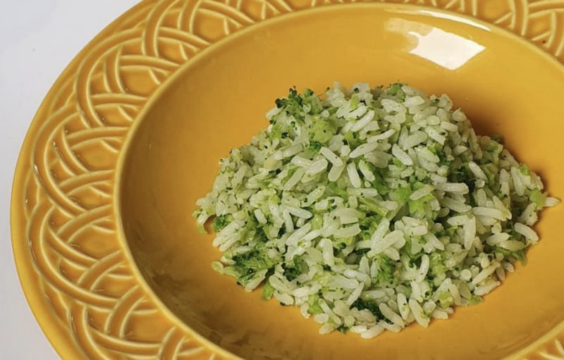 Arroz de brócolis para até 3 pessoas - 300 g