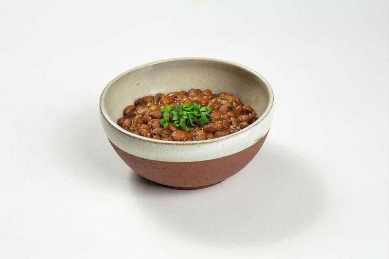 Feijão carioca com bacon para até 3 pessoas (330gr)