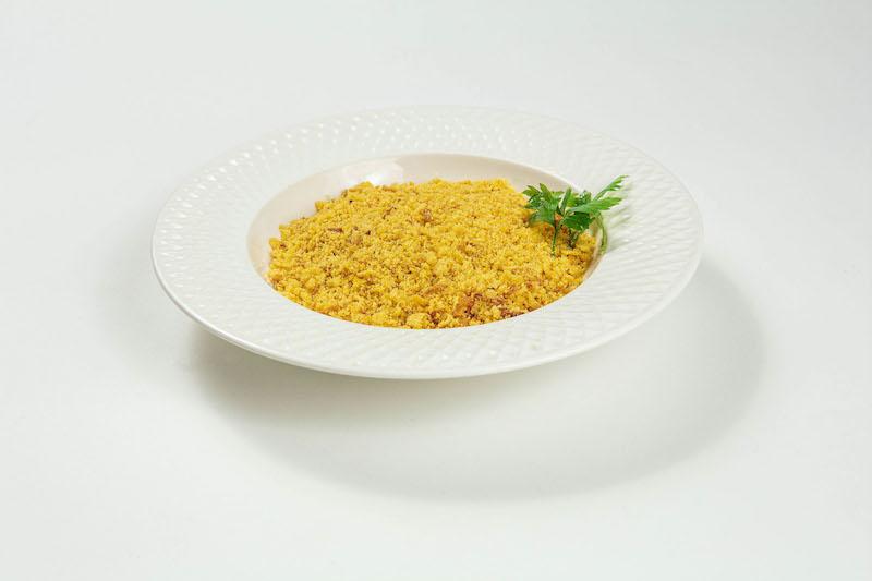 Farofa de flocos de milho com cebola crocante para até 3 pessoas - 210 g