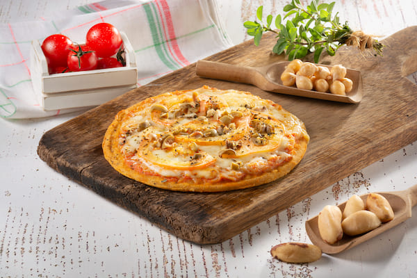 WeChef - Pizza de Muçarela sem Glúten e sem Lactose - 210 g