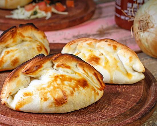 Empanadas Juanito's - Queijo e cebola - 100 g